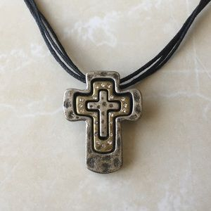 Cross Pendant Necklace by Premier Designs